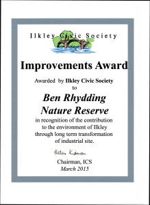 Ilkley Civic Society Award